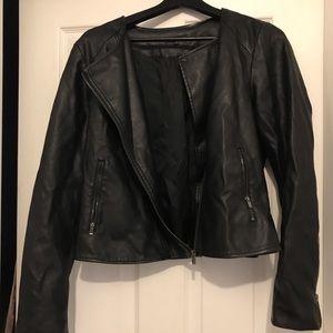 Faux leather jacket - RW&CO